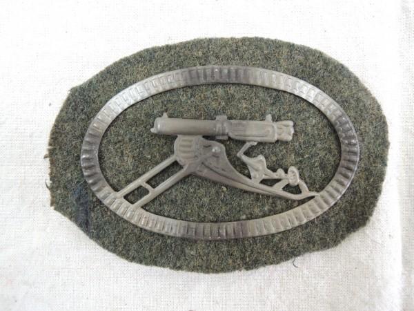 Sleeve badge machine gun WK 1