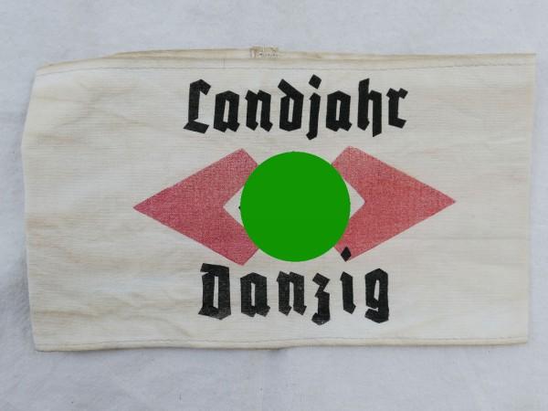"""Bund deutscher Mädel Armband """"Landjahr Danzig"""" (Association of German Girls)"""