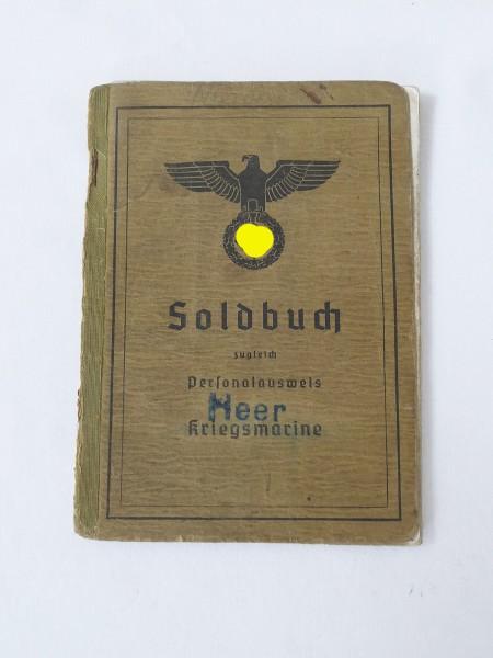 Kriegsmarine Soldbuch Heer Identity card Kiel Marine