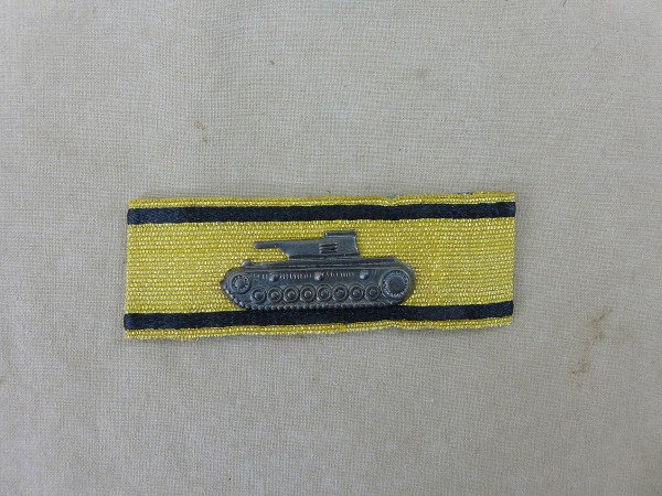 Panzervernichtungsabzeichen in Gold / special badge for down f.d. fighting of tanks edition black