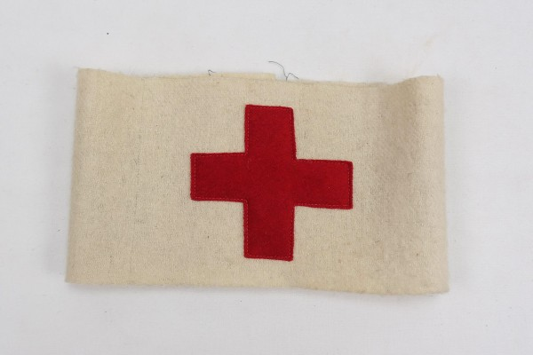 Wehrmacht Armband Medic Red Cross