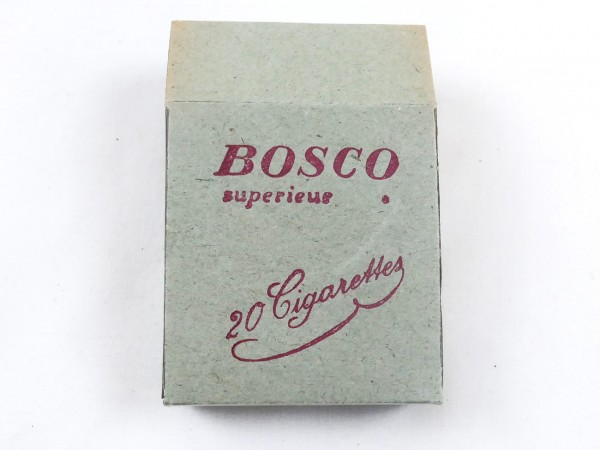 Bosco cigarette pack for the Wehrmacht