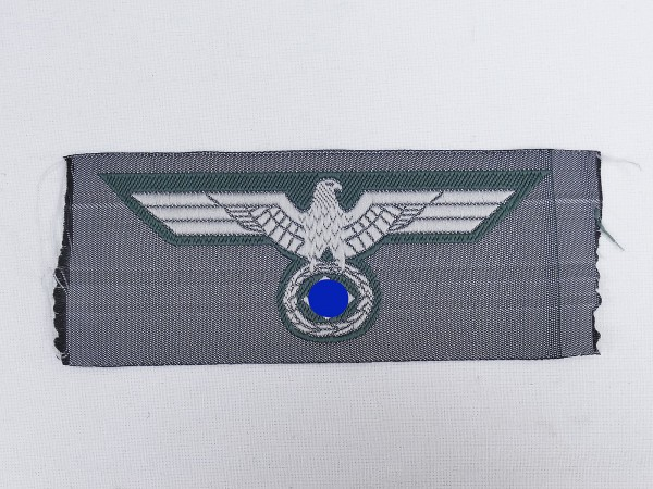 Wehrmacht Army Bevo breast eagle M40 woven for field blouse uniform