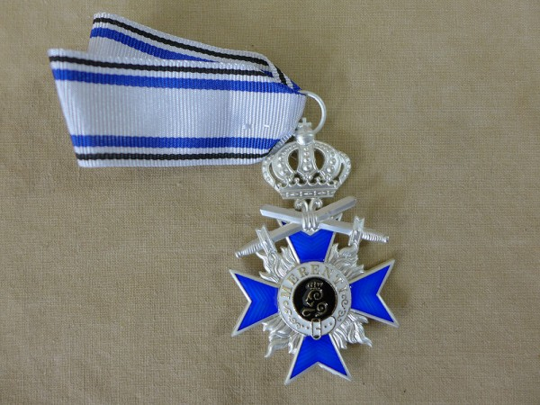 Bavarian Military - Order of Merit 4th Class with Swords and Crown Merenti 1866