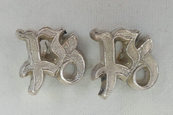 Wehrmacht PZ Shoulder Pads Panzer Trains / 1x pair of pads for epaulettes