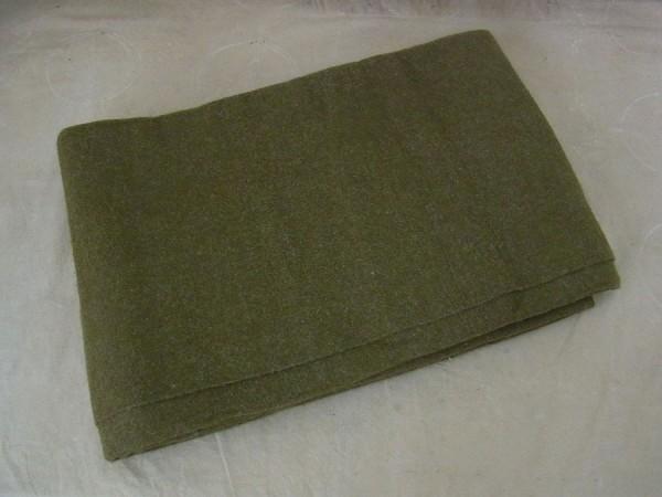 US Army Wool virgin Blanket OD US Wool Blanket