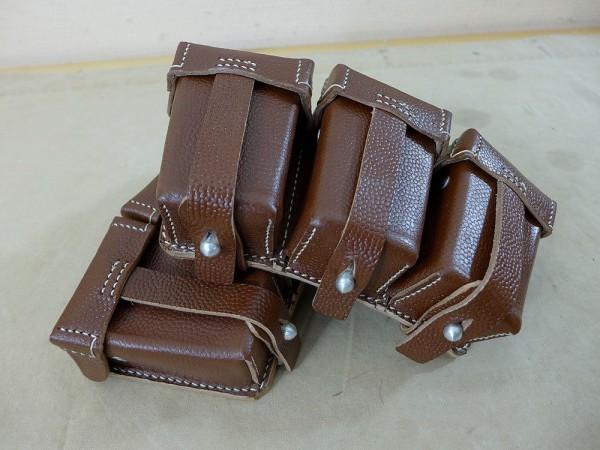 Pouch WK1 rifle 98 G98 ammunition bag leather 1916 Mauser