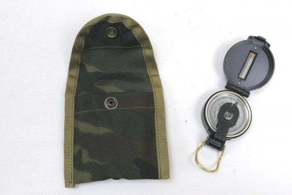 US Nylon Compass Case camou Compass Bag with Compass Engineer