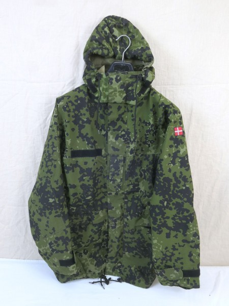 Denmark Gore-tex wetness protection jacket Gr.M camouflage HMAK 2008