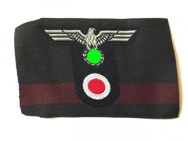 Wehrmacht tank T-cap badge cap eagle T-shape woven field cap armoured cap