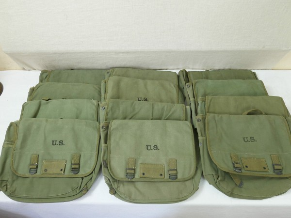 MUSETTE BAG type US ARMY WW2 combat bag paratrooper bag paratrooper