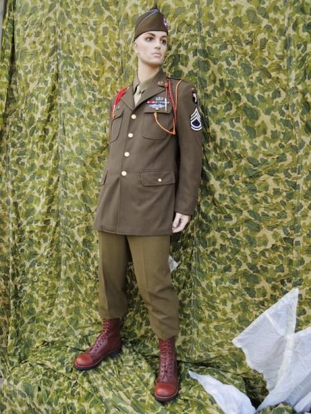 Example for a US WK2 Service Class A Uniform Dressing Uniform Team