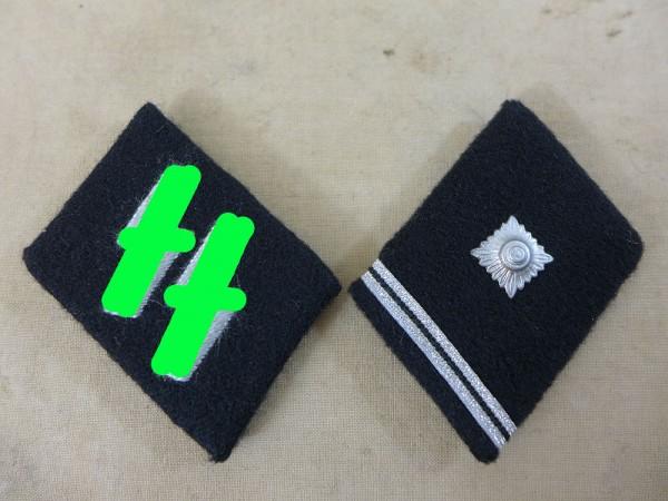 Waffen Elite collar mirror SS Scharführer (Unterfeldwebel)