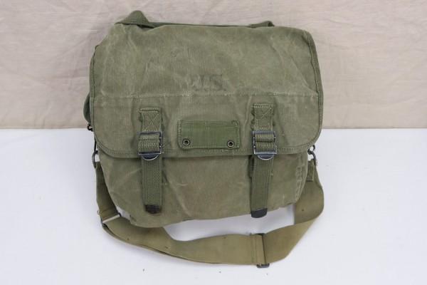 Original US WW2 MUSETTE BAG Field Bag Battle Bag Canvas
