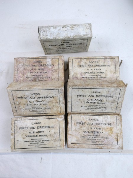 Orig. US Army dressing pack Carlisle Model Large First-Aid