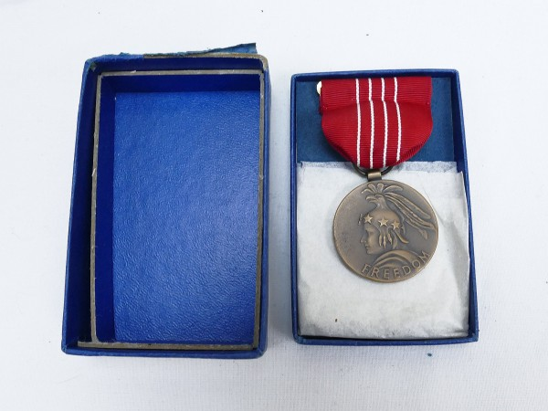 United States US Medal of Freedom / Freiheitsmedaille 1946