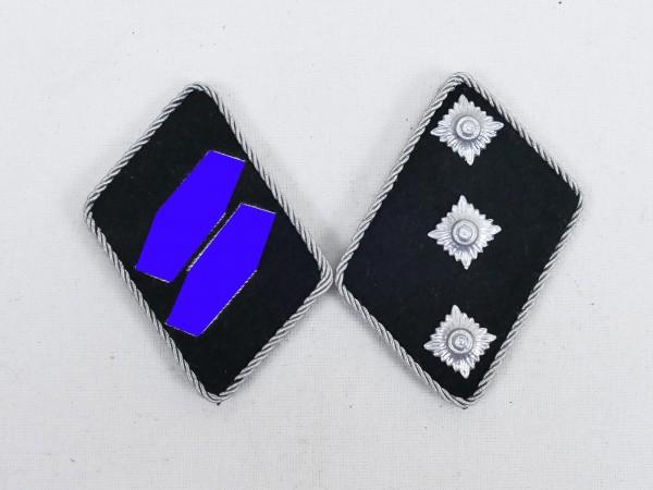Waffen Elite collar mirror / Untersturmführer Leutnant , flat design TOP!