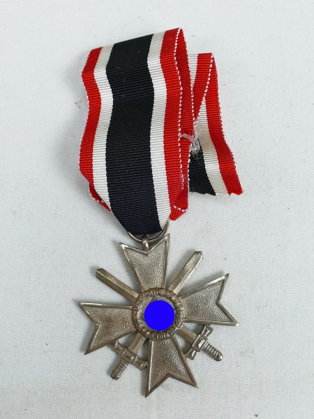 Wehrmacht War Merit Cross KVK with Swords Silver 2nd Class on Ribbon