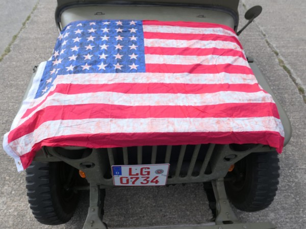 Flag USA WW2 Stars and Stripes 48 Stars Vintage new