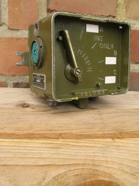 "Vehicle Communications Equipment ""Crew Member Control Box"" C-2298/VRC"