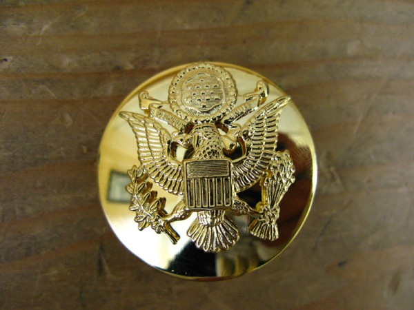 US Army cap badge enlisted men