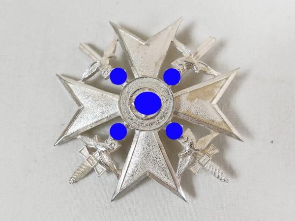 Spain Cross in Silver with Swords Honour Cross Legion Condor