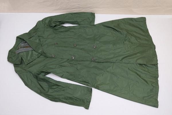 US Army Rain Coat Green Rubber 1980s size L/XL