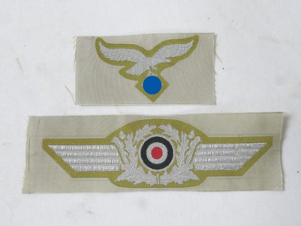 Set officer effects for tropics field cap Hermann Meyer Ramcke brigade paratrooper parachutist peak cap