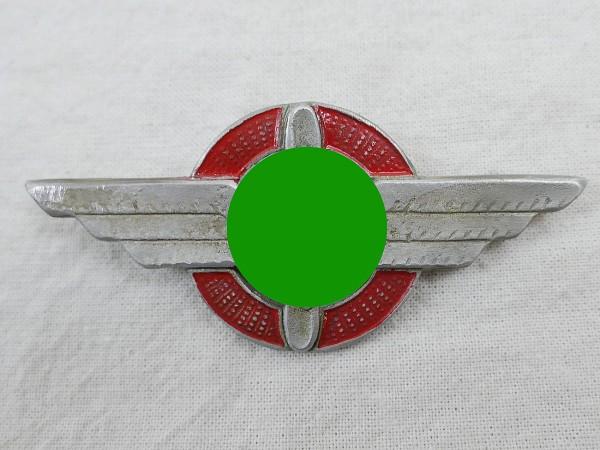 Cap badge pennant of the German Air Sports Association DLV 1934