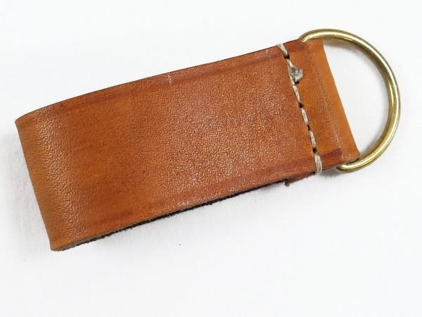 Leather loop SA / Leather belt loop WK 1 light brown