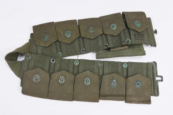 US Army M1923 Garand M1 Ammo Belt Ammo Belt olive + First Aid Kit Pouch
