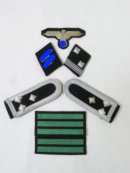 Set of Effects Badges Weapons Elite Shoulderboards Sleeve Eagle Collar Mirror for Stormchar Leader