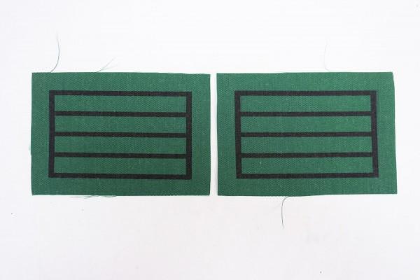 1x pair WSS Hauptscharführer Standartenoberjunker for camouflage uniforms and special clothing