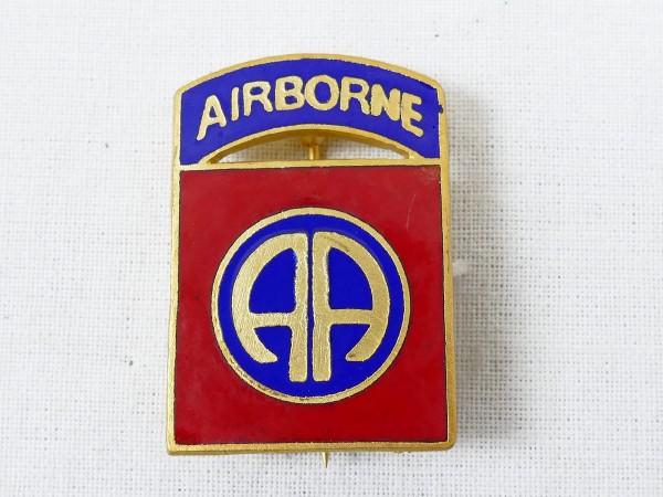 US WW2 Paratrooper 82nd Airborne badge on pin pin pin badge