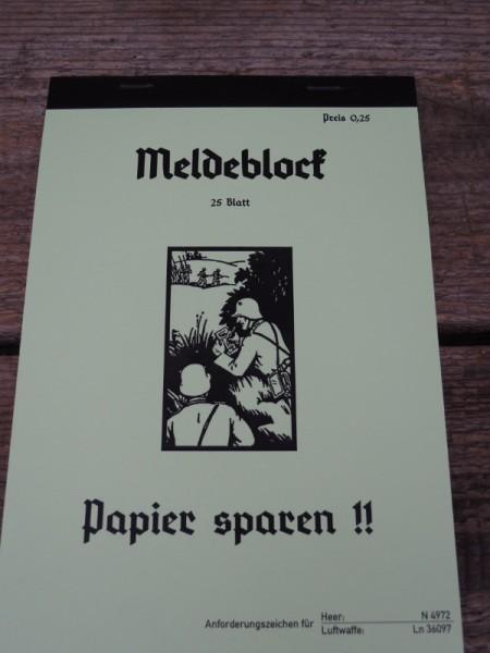 Registration block Wehrmacht Elite