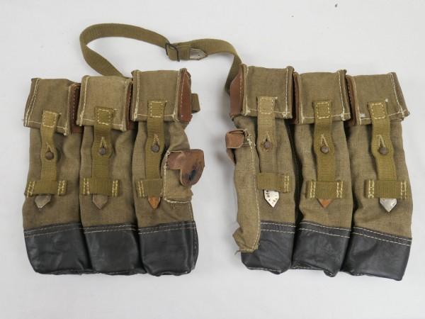 Wehrmacht STGW assault rifle MP 44 magazine pouches + StGw44 Volkssturm 1x pair