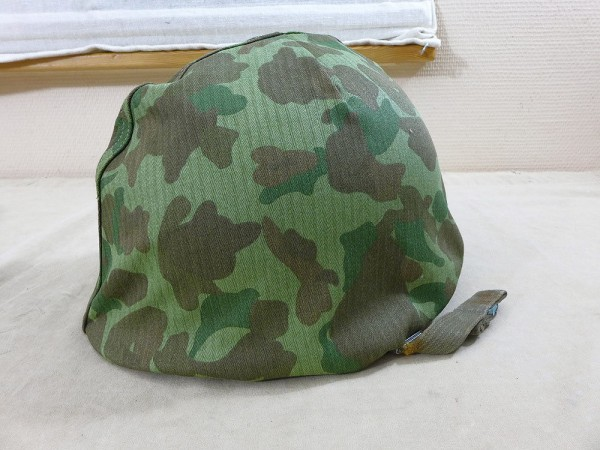 US ARMY WW2 Pacific helmet cover DUCK HUNTER camouflage cover for M1 steel helmet