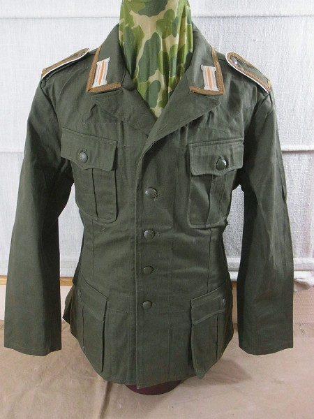 Uniform Jacket M40 Fieldjacket DAK Gunnery Sergeant Wehrmacht