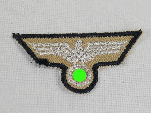 Wehrmacht DAK Tropics Afrikakorps Heer Mützenabzeichen Mützenadler Schiffchen Field cap woven