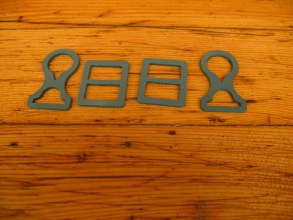 Chin strap attachment set WK1 steel helmet M16