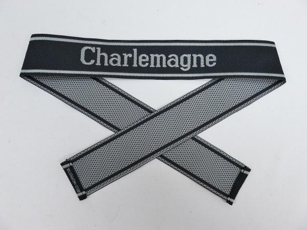Wehrmacht Elite BEVO Sleeve Band Waffen SS Division CHARLEMAGNE Sleeve Stripes