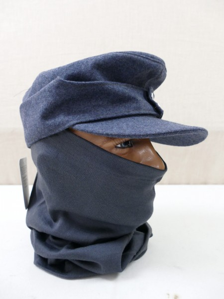 Luftwaffe tube scarf grey blue granny scarf winter additional clothing field cap