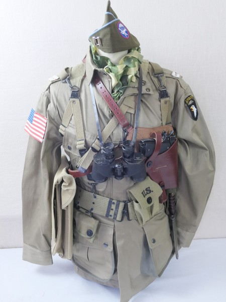 US Paratrooper Captain Uniform kit US Paratrooper Normandy 1944 D-Day