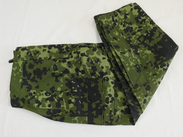 Gr. XS - Denmark Gore-tex moisture protection trousers Flecktarn HMAK rain trousers new