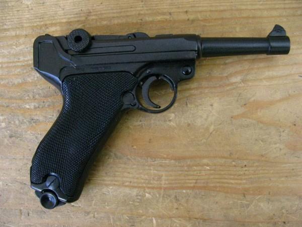 Pistol P08 Deco Model Movie Gun