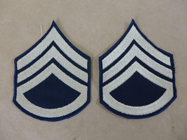 US ARMY WW2 Ranks Badge S/Sgt Staff Sergeant Uniform Rank Badge