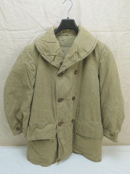 ORIGINAL US WW2 Mackinaw Jacket winter over coat Jeep Jacket Coat Size Small