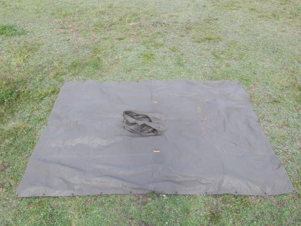 BW original German Army poncho rain poncho rain cape olive