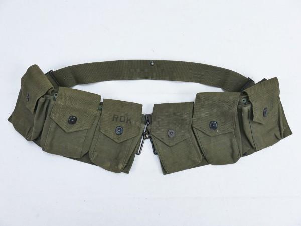 ROK B.A.R. Ammo Belt Magazine Beltolier 50's-60's with 6 Pockets