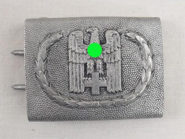 German Red Cross Belt Lock Box Wehrmacht Aluminium